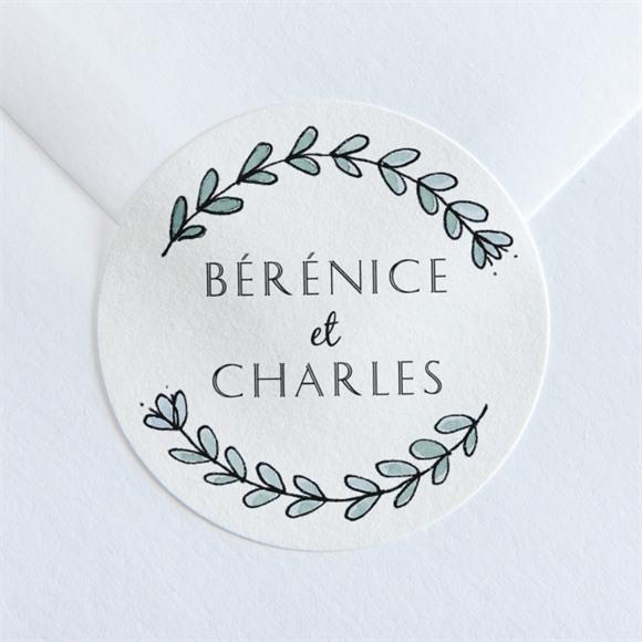 Sticker mariage Douce mélodie réf.N36038
