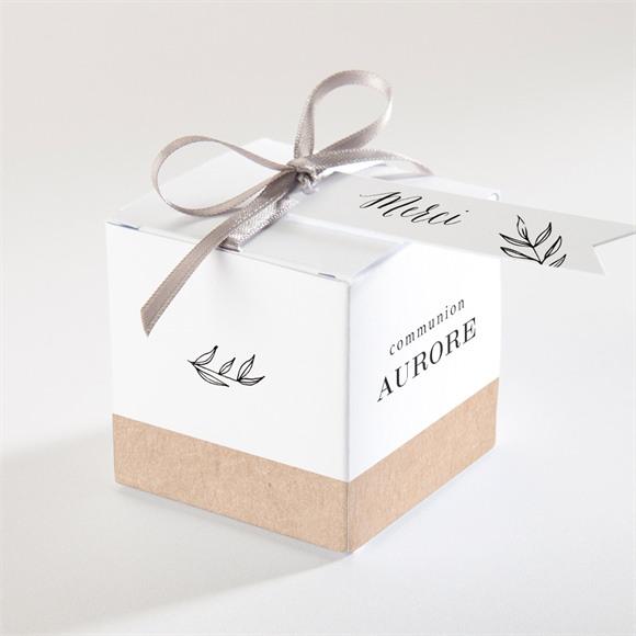 Boîte de dragées communion L'évidence réf.N340266