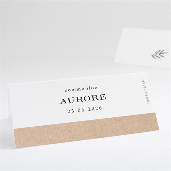 Marque-place communion L'évidence réf.N440741