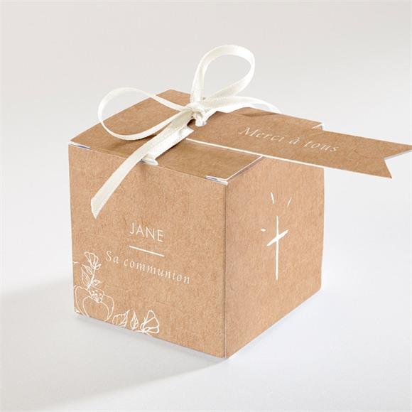 Boîte de dragées communion Illuminations réf.N340268