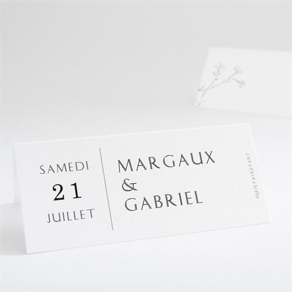 Marque-place mariage Tendre couronne réf.N440742