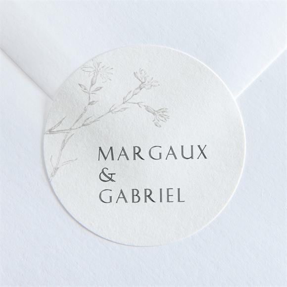 Sticker mariage Tendre couronne réf.N36042
