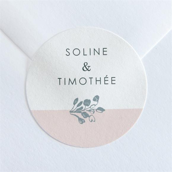 Sticker mariage Guirlande de fleurs réf.N36043