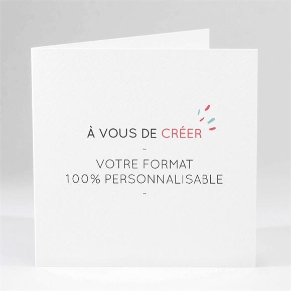 Carte invitation départ à la retraite Livret 100% création réf.N451155