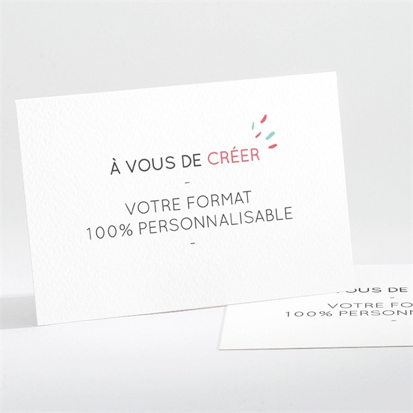 Invitation anniversaire 100% à personnaliser ! réf.N111259