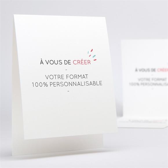 Invitation anniversaire de mariage Format original 100% crea réf.N50163