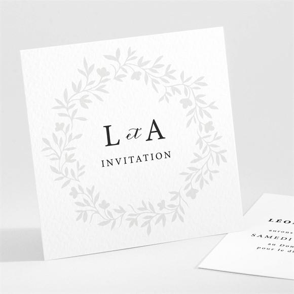 Carton d'invitation mariage Sublime réf.N301188