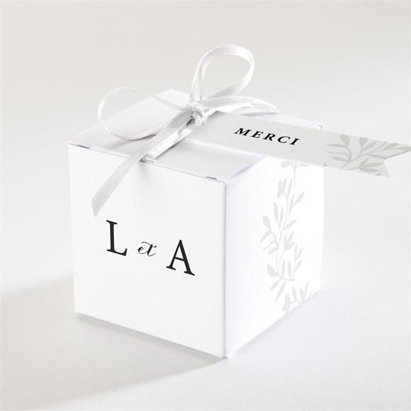 Boîte de dragées mariage Sublime réf.N340278