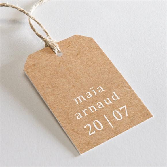 Etiquette mariage Gravure réf.N29150