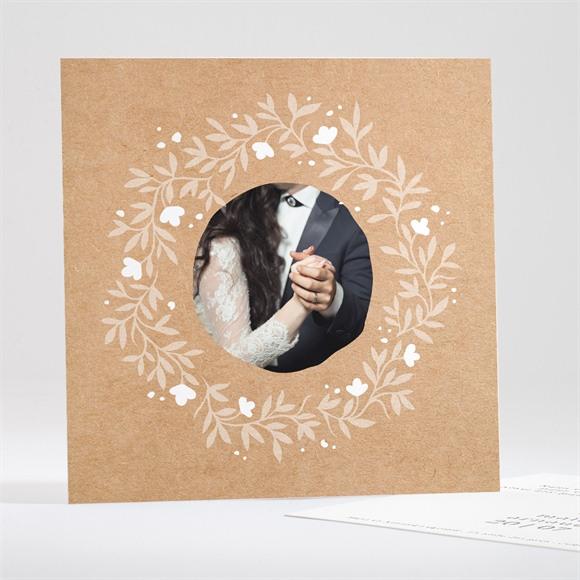 Remerciement mariage Gravure réf.N35173