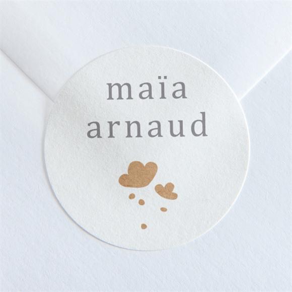 Sticker mariage Gravure réf.N36045