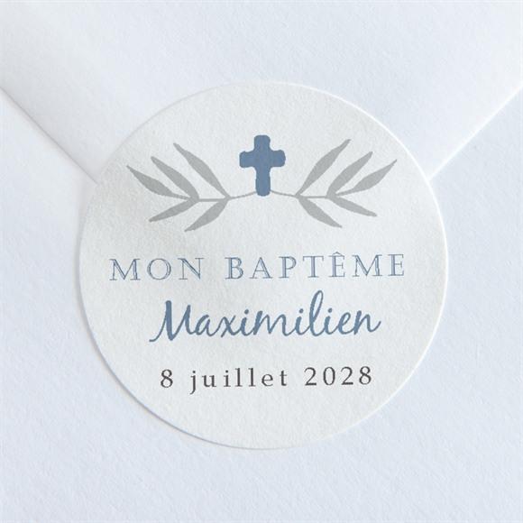 Sticker baptême Mosaïque de photos réf.N36046