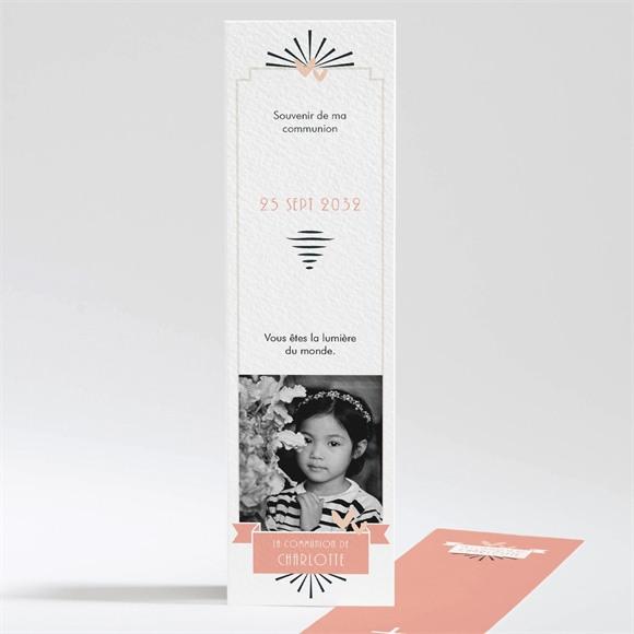 Signet communion Invitation Photomaton réf.N201101