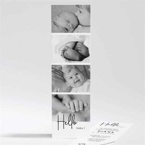 Faire-part naissance Hello Baby réf.N201105