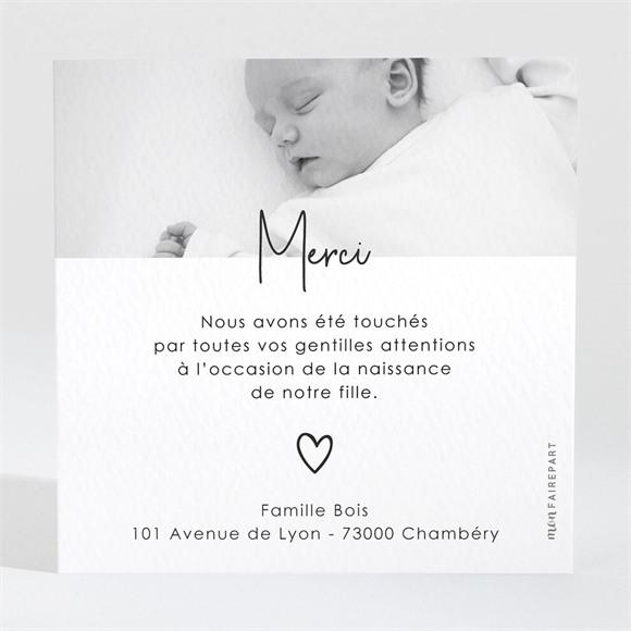 Remerciement naissance Hello Baby réf.N3001601