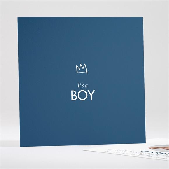 Faire-part naissance It's a Boy réf.N35178
