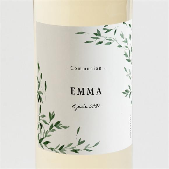 Etiquette de bouteille communion Belle Simplicité réf.N3001604