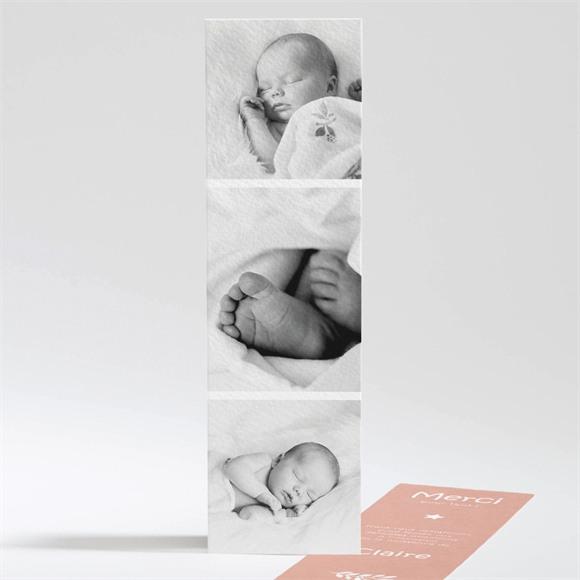 Remerciement naissance Mosaique réf.N201108