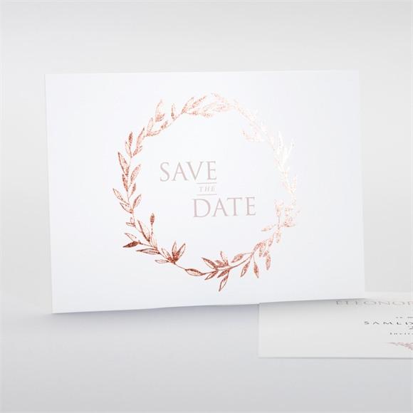 Save the Date mariage Sous le saule réf.N18126