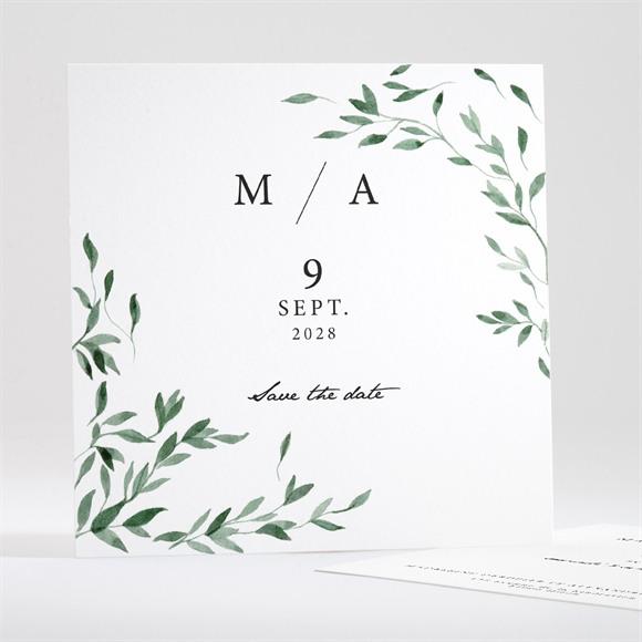 Save the Date mariage A l'ombre de l'olivier réf.N35183