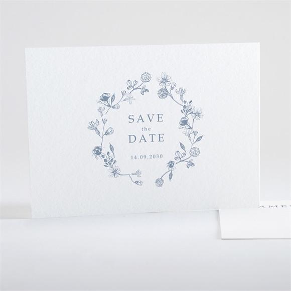 Save the Date mariage Composition végétale réf.N15111