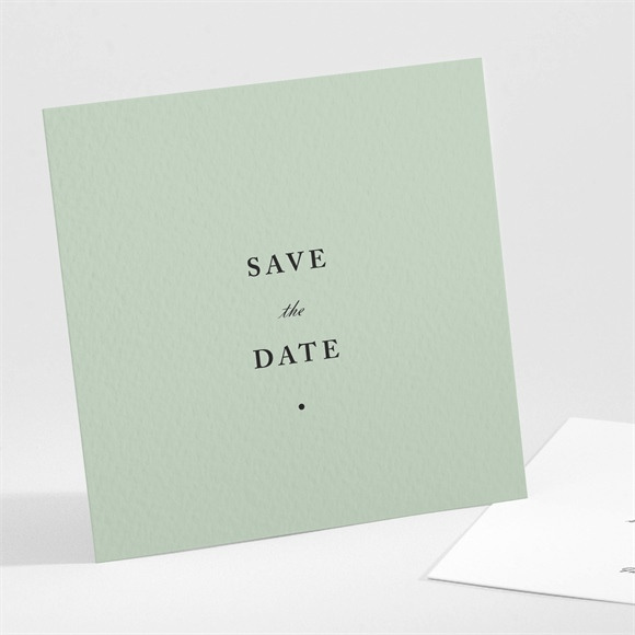 Save the Date mariage Tendre amande réf.N301196