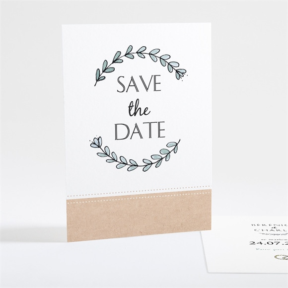Save the Date mariage Douce mélodie réf.N25104
