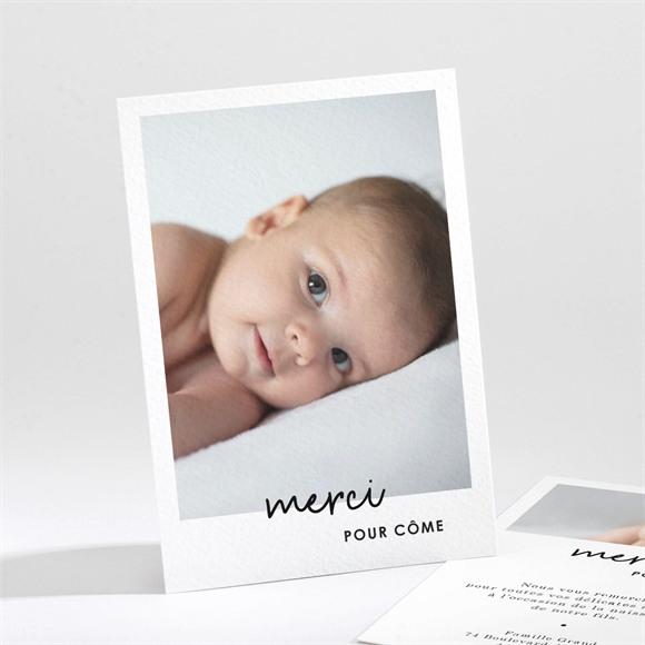 Remerciement naissance Hello en photos réf.N211266