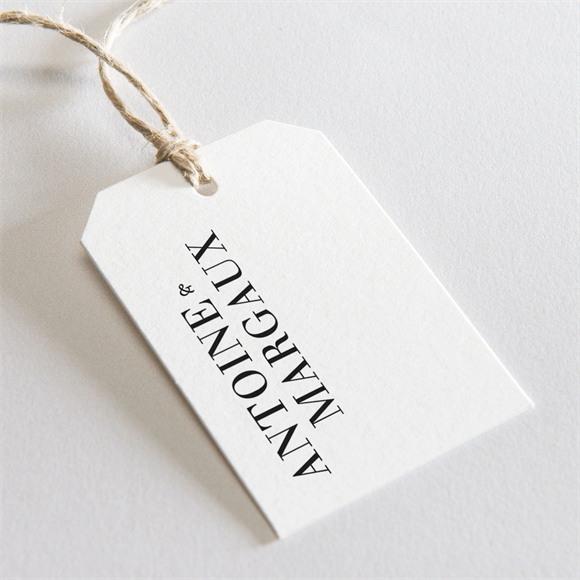 Etiquette mariage Lettering réf.N29157