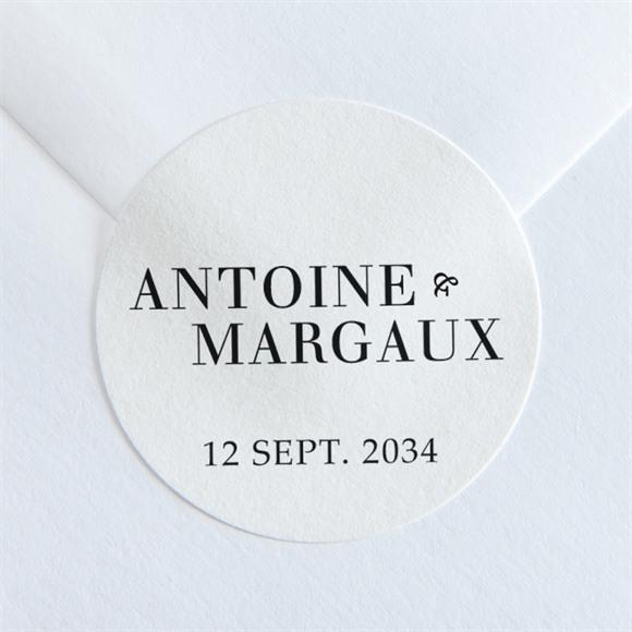 Sticker mariage Lettering réf.N36052