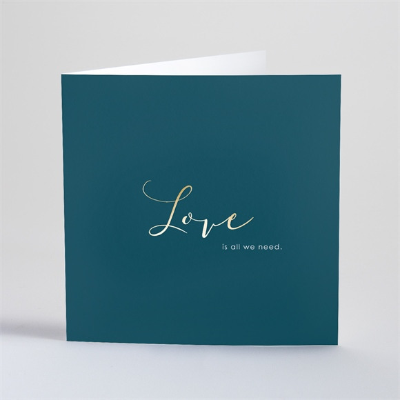 Faire-part mariage Love etc... réf.N46137