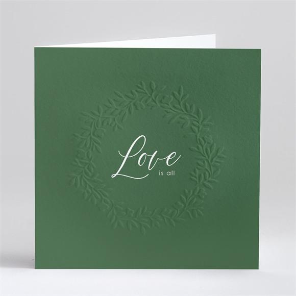 Faire-part mariage Doux relief réf.N46138