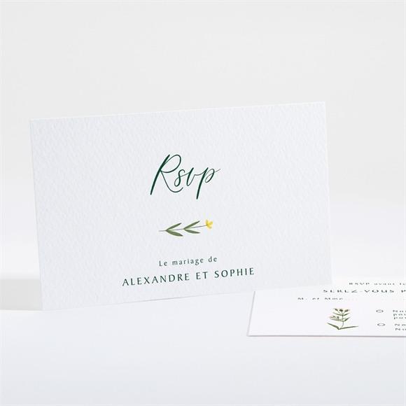 Carton réponse mariage La Ronde des Fleurs réf.N161105