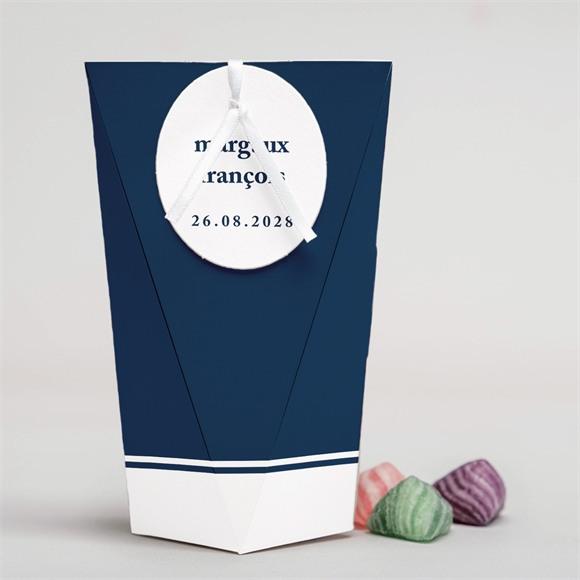 Boîte surprise mariage Bleu romantique réf.N52005