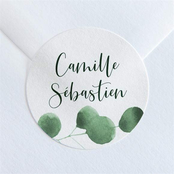 Sticker mariage Fraîcheur végétale réf.N36056