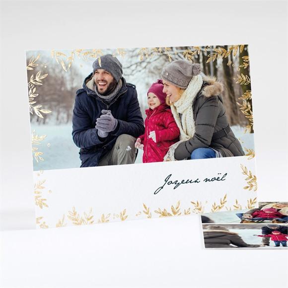 Carte de voeux Noël en photos réf.N18132