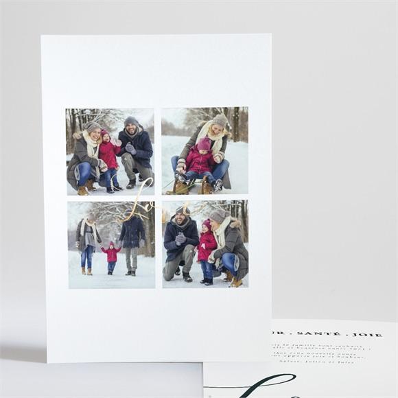 Carte de voeux Images élégantes réf.N241210