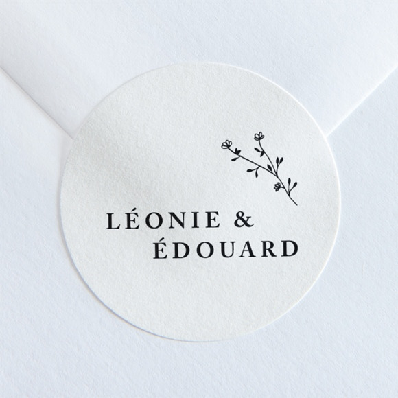 Sticker mariage Delicatesse réf.N36058