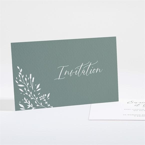 Carton d'invitation mariage Elégante Poésie réf.N161113