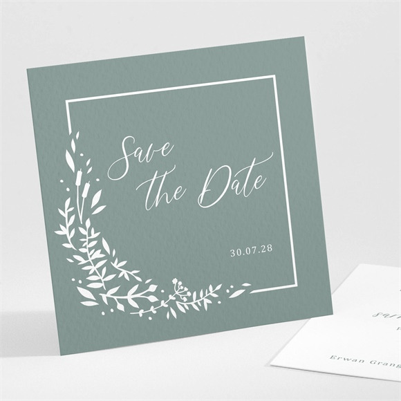 Save the Date mariage Elégante Poésie réf.N301209