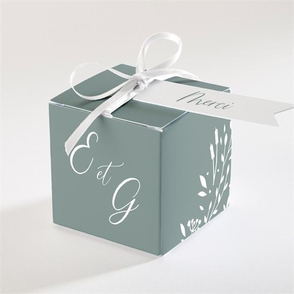 Boîte de dragées mariage Elégante Poésie réf.N340298