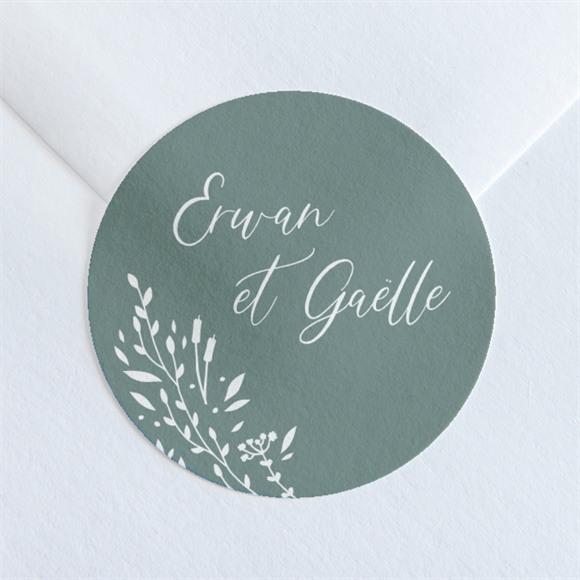 Sticker mariage Elégante Poésie réf.N36060