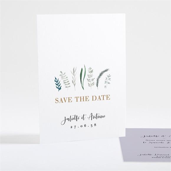 Save the Date mariage Notre Bouquet réf.N25107