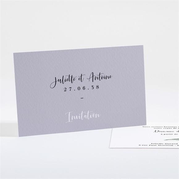 Carton d'invitation mariage Notre Bouquet réf.N161115