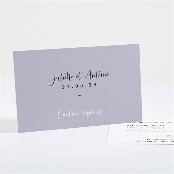 Carton réponse mariage Notre Bouquet réf.N161116