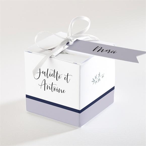 Boîte de dragées mariage Notre Bouquet réf.N340299