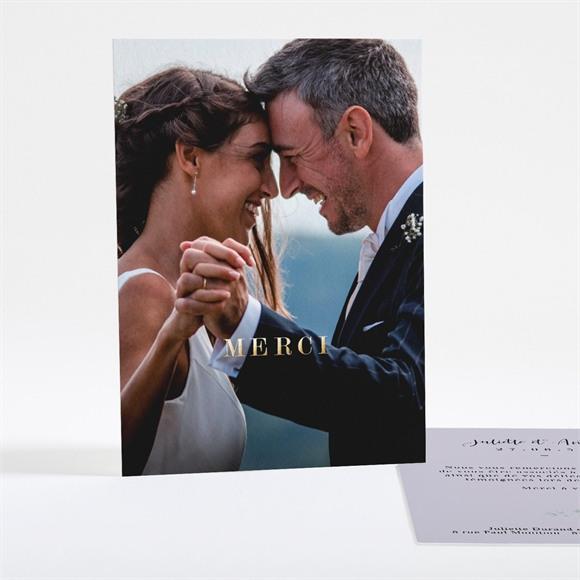 Remerciement mariage Notre Bouquet réf.N28119