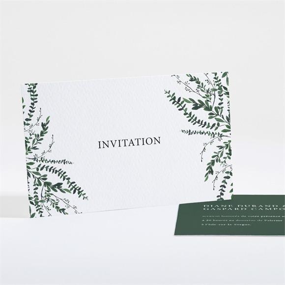 Carton d'invitation mariage Evidemment réf.N161117
