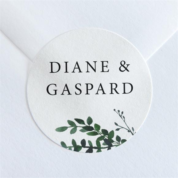 Sticker mariage Evidemment réf.N36062