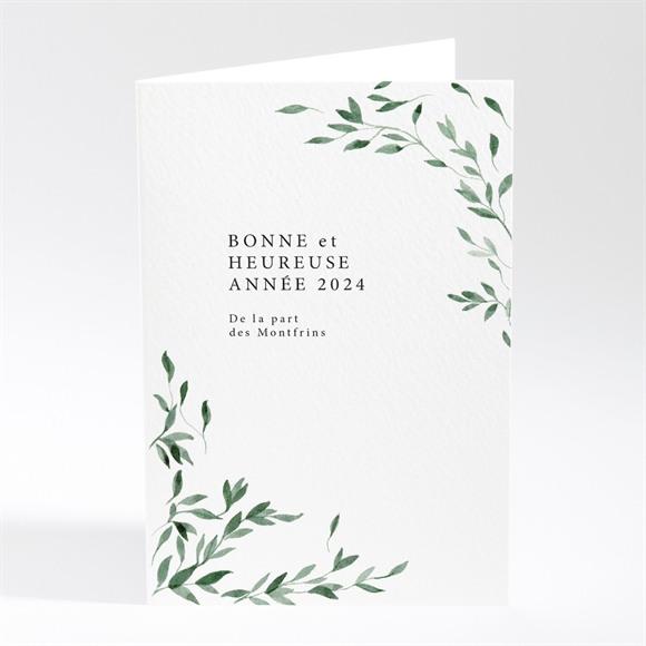 Carte de voeux Tout en végétation réf.N401829